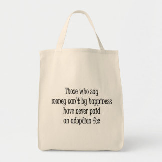 Adoption Fee Grocery/Tote Bag