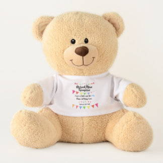 Adoption From Foster Care Stuffed Bear