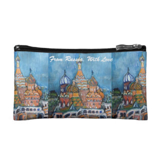 "Adoption""From Russia..."" St. Basil's Cosmetic Bag"