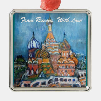 "Adoption""From Russia..."" St. Basil's Ornament"