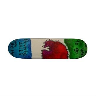 Adoption fundraiser skateboard
