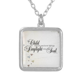 adoption gifts custom necklace