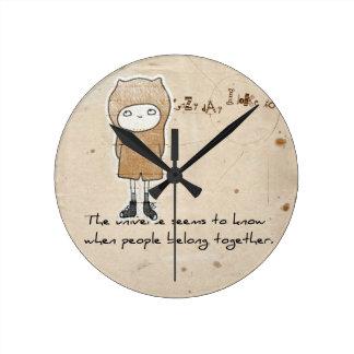 adoption gifts round clock