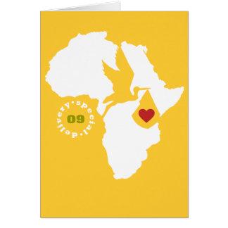 Adoption Gotcha Day Stationery Note Card