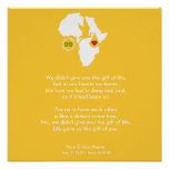 Adoption Gotcha Day - Commemorative Poem Print