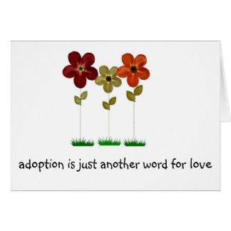 adoption greeting card