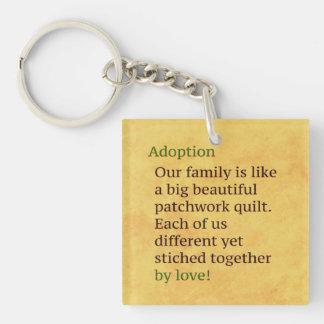 Adoption is a Patchwork Keychain