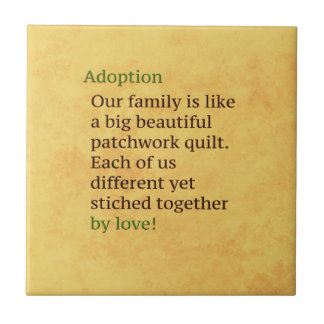 Adoption is a Patchwork Tile