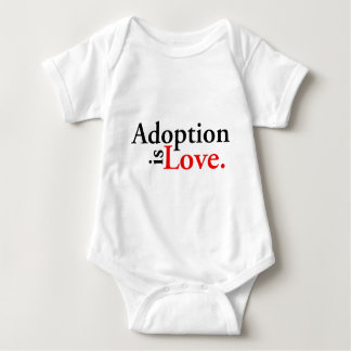 Adoption Is Love Baby Bodysuit