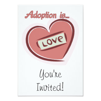 Adoption is Love Card