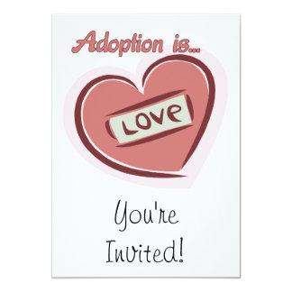 Adoption is Love Custom Invitations