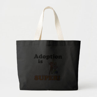 adoption is super tote bags