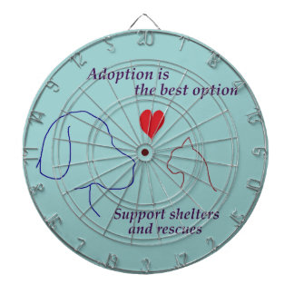 Adoption is the Best Option Dart Boards