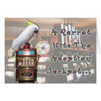 Adoption Jackpot Greeting Card