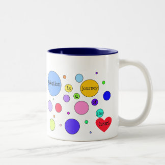 Adoption Journey of Heart Circles Two-Tone Coffee Mug