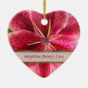 Adoption Keepsake Ornament