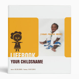 Adoption Life Book Binder