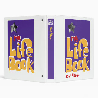 Adoption Life Book Vinyl Binder
