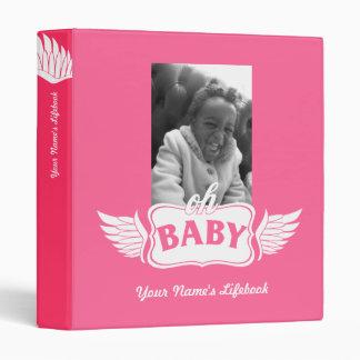 Adoption Life Book wings 3 Ring Binder