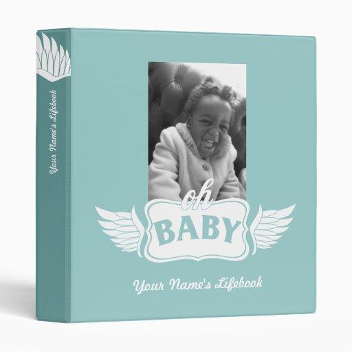 Adoption Life Book wings 3 Ring Binders
