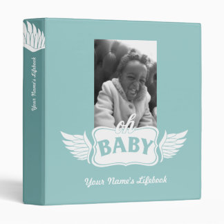 Adoption Life Book wings Vinyl Binder