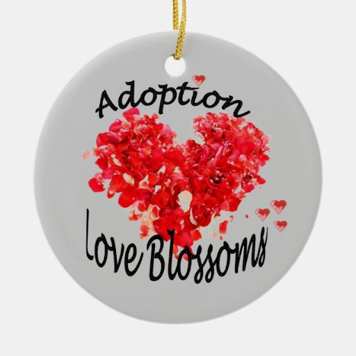 Adoption Love Blossoms Ornament