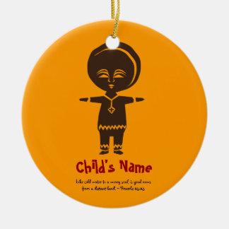 Adoption Love Boy Photo Ornament