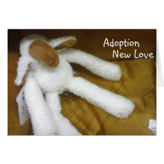 ADOPTION=LOVE / CUDDLES IN YOUR FUTURE CARD