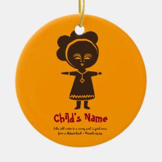 Ethiopian Ornaments & Keepsake Ornaments | Zazzle