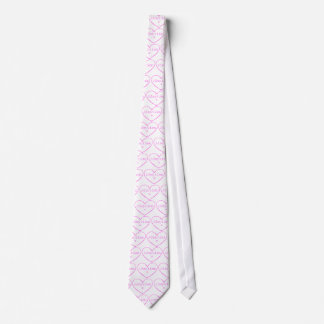 Adoption = love in pink tie