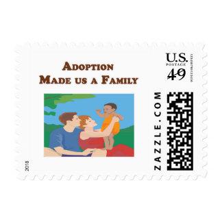 Adoption Made us a Family Postage