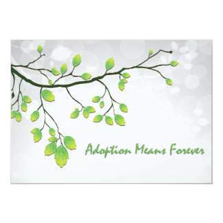 Adoption Means Forever Card