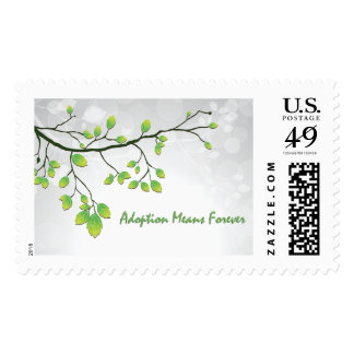 Adoption Means Forever Postage