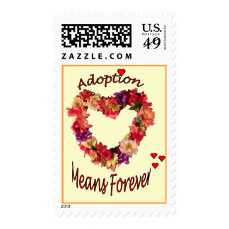 Adoption Means Forever Postage Stamps
