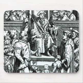 Adoption of orphan children in the Inferior Court Mouse Pad