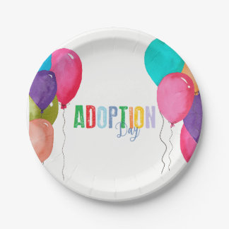 Adoption Party Collection Paper Plate