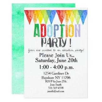 Adoption Party Invitations purplemoonco
