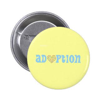 adoption pinback button