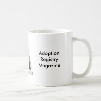 Adoption Registry Magazine Coffee Mug
