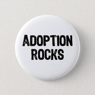Adoption Rocks Pinback Button