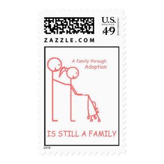 Adoption Stroller Pink Stamp