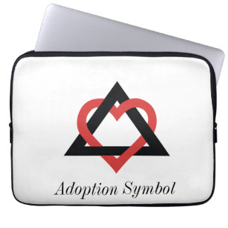 Adoption Symbol Sleeve Laptop Sleeve