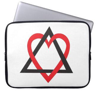 Adoption Symbol Sleeve Laptop Sleeves