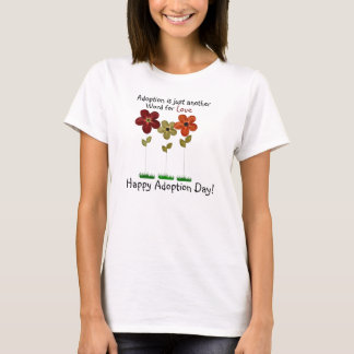 adoption tee shirt