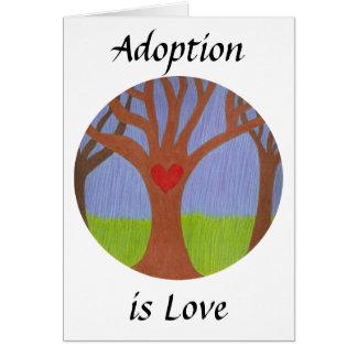 Adoption Tree Greeting Card