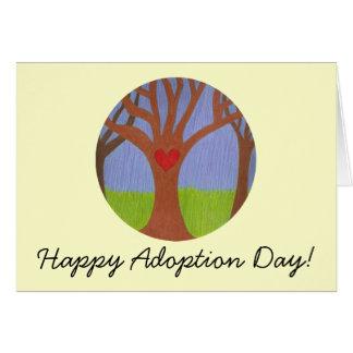 Adoption Tree Happy Adoption Day! Greeting Card