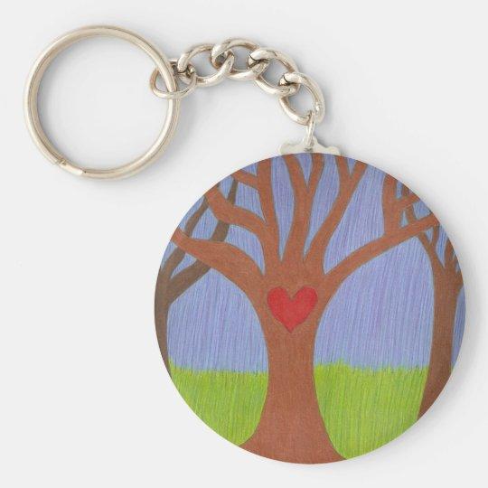 Adoption Tree Keychain