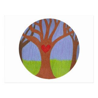 Adoption Tree Post Card