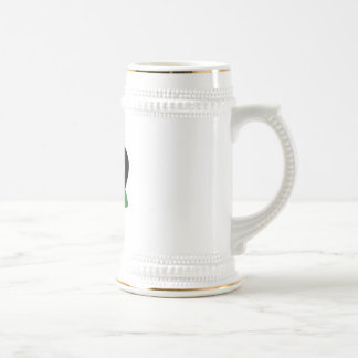 Adoption Triangle Black Green Mug
