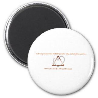 Adoption Triangle Magnet